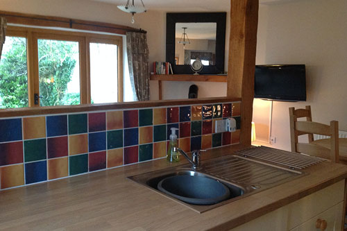 the hawthorns kitchen for self catering