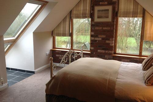 woodlands bedroom area