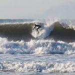 Surfer on Croyde Beach