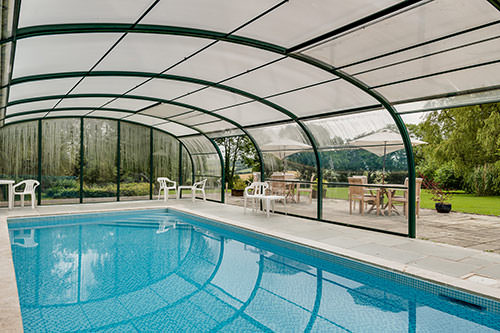 Swimming pool old rectory cottage devon the old rectory - Cottages in devon with swimming pool ...